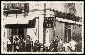 Caffè Trocco - Corso Novara ad angolo con Piazza Crispi