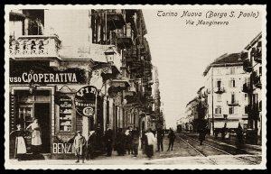 Drogheria e Coloniali uso Cooperativa - Borgo S. Paolo, Via Monginevro