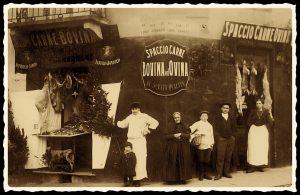Spaccio Carne Bovina ed Ovina - Borgo Pò - 1915