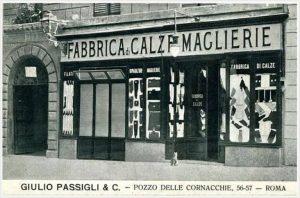 Fabbrica di Calze e Maglierie - Via del Pozzo delle Cornacchie