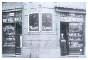Antica Drogheria - Via Carmagnola angolo Via Pastrengo - 1925