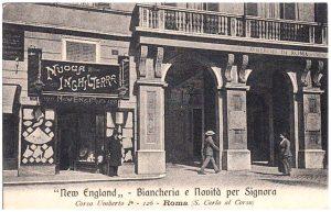 "Biancheria e Novità per Signora ""New England"" – Corso Umberto I"