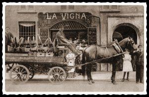 Bottiglieria La Vigna - Via Larga n°3, inizio '900
