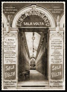 Ex Sala Cinematografica Volta - Galleria De Cristoforis (sostituita dal complesso Assicurazioni Toro)