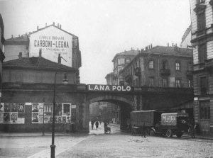 Insegne varie - Carboni Legna, Lana Polo - anni '30