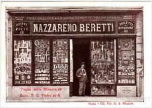 Nazzareno Beretti – Piazza della Minerva