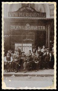 Osteria Trani - Via Pastrengo - 1927