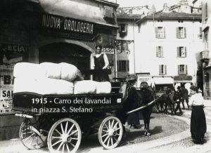 Piazza Santo Stefano - 1915