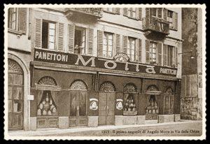 Primo negozio Motta