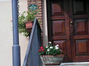 Targa per B&B Coccinelle di Truccazzano provincia di Milano realizzata da Insegne Antiche