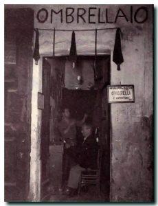 Bottega di ombrellaio - Napoli
