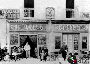 Caffè Umberto - Piazza Umberto, Napoli - Ottobre 1912