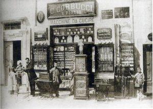 Negozio Corbucci - Piazza Fanti, Città di Castello - 1893