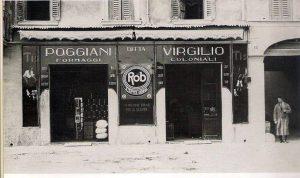 Negozio di articoli alimentari e prodotti coloniali Poggiani Virgilio - 1919