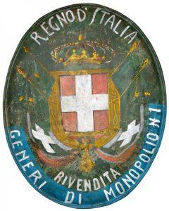 Regno d'Italia Rivendita Generi di Monopolio