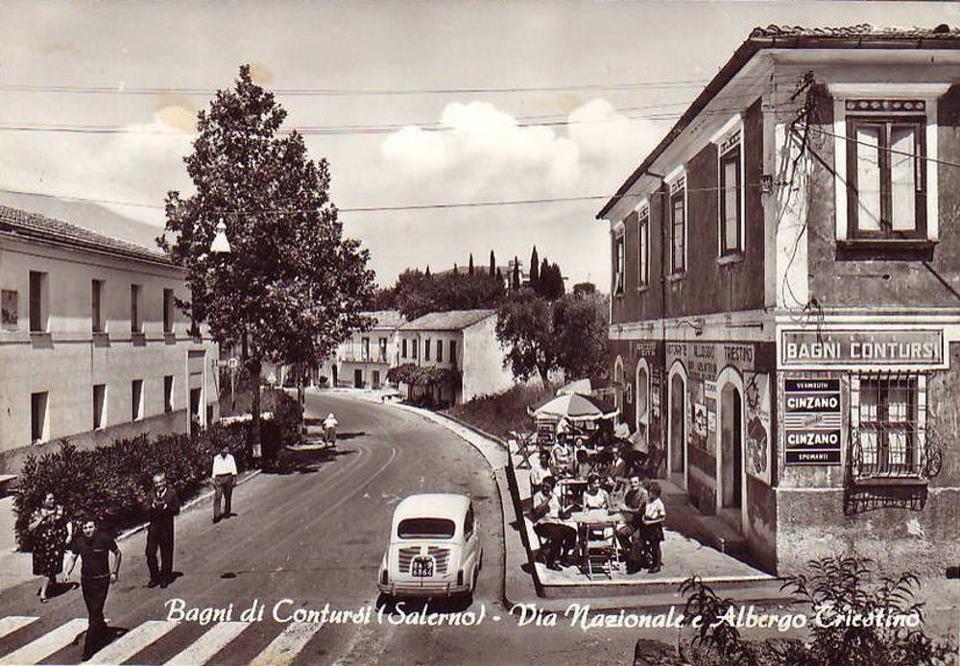 Vermouth Cinzano e palazzina dei Bagni Termali – Contursi Terme