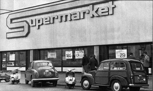 Primo supermercato Esselunga aperto in Italia - Viale Regina Giovanna