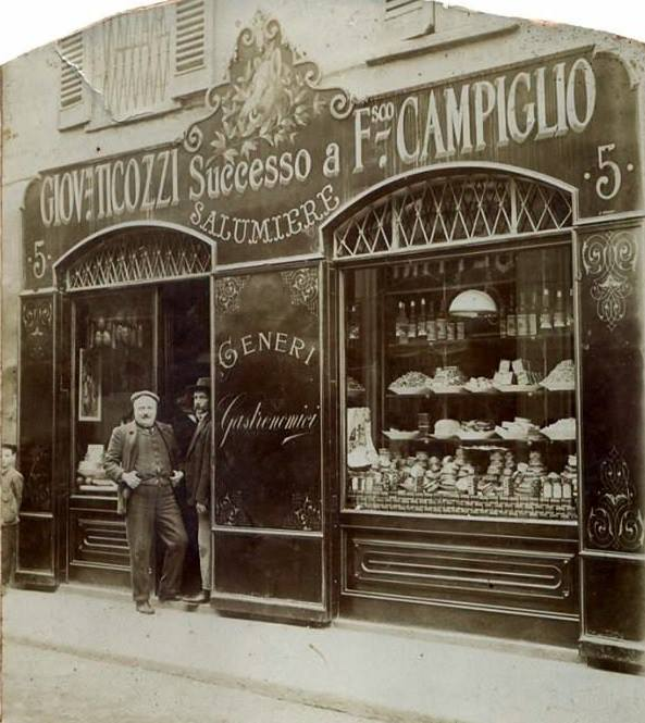 Salumiere Giovanni Ticozzi Successo a Francesco Campiglio (Via santa Maria Segreta 5)
