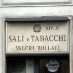 Sali e Tabacchi Valori Bollati Riv.37