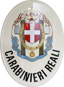 "Stemma dei ""Carabinieri Reali"" per l'Associazione Nazionale Carabinieri - Nucleo di Protezione Civile - O.N.L.U.S."