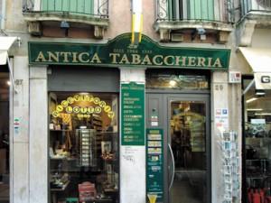Insegna per l'Antica Tabaccheria di Vicenza