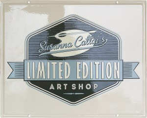 "Insegna per l'Art Shop ""Studio Cattai"""