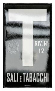 """Insegna per il """"Sali e Tabacchi"""" - Riv. n.12"""
