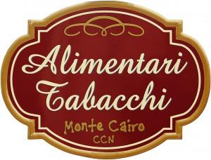 Insegna per l'Alimentari Tabacchi del CCN di Monte Cairo