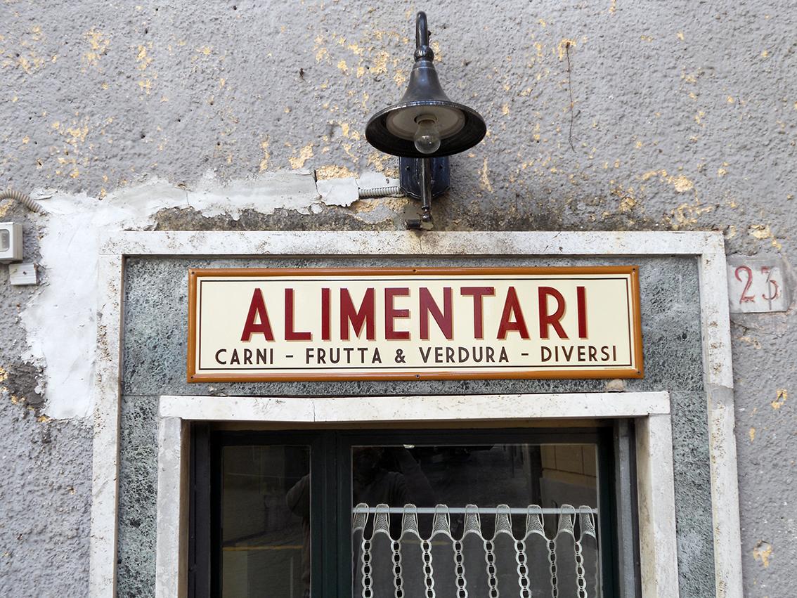 """abbastanza Insegne per l'Alimentari """"La Bottega"""" – Accademia delle Insegne d  EU11"""