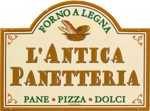 """Insegna per """"L'Antica Panetteria"""" - Forno a Legna Pane Pizza Dolci A"""