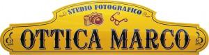"""Insegna per lo Studio Fotografico """"Ottica Marco"""""""
