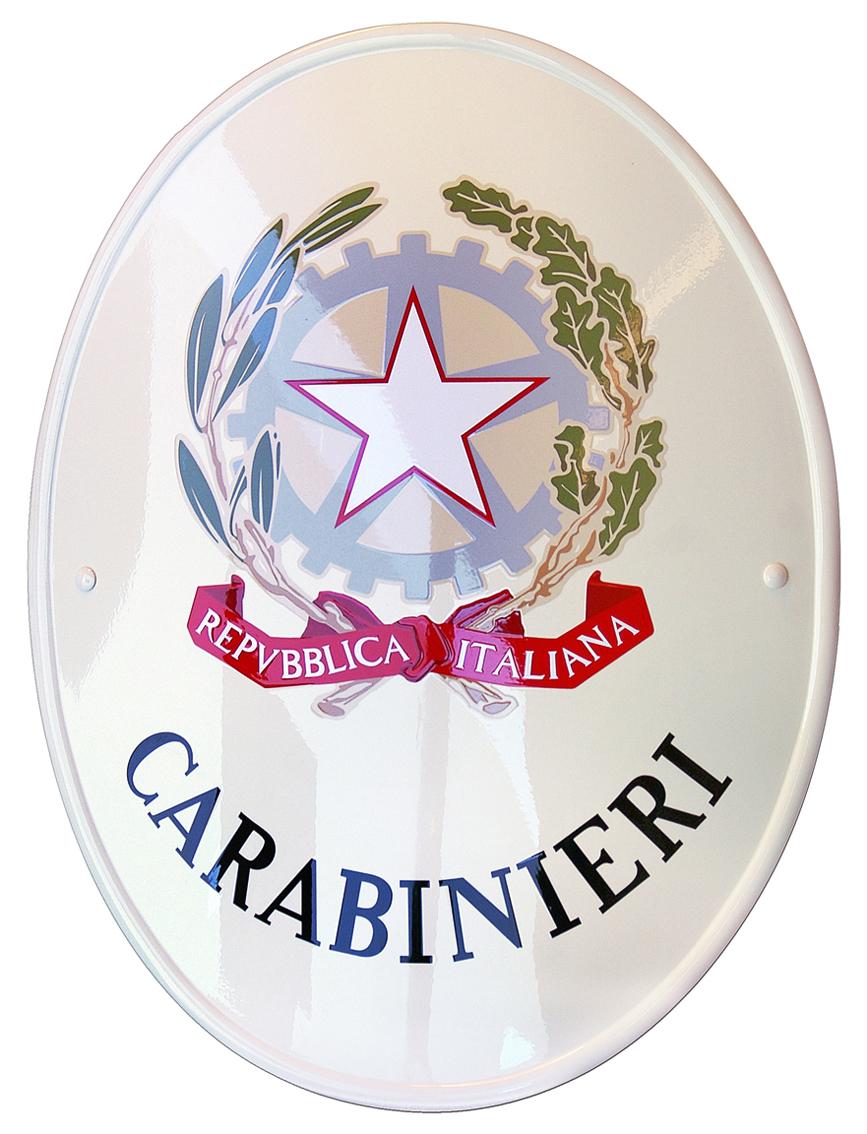 """Stemma istituzionale dei """"Carabinieri"""" old style"""
