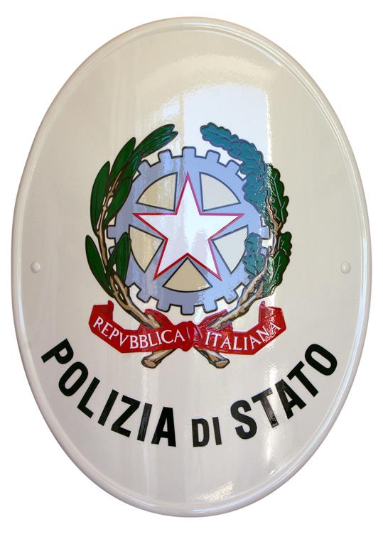 Stemma istituzionale della polizia di stato accademia for Questura napoli permesso di soggiorno