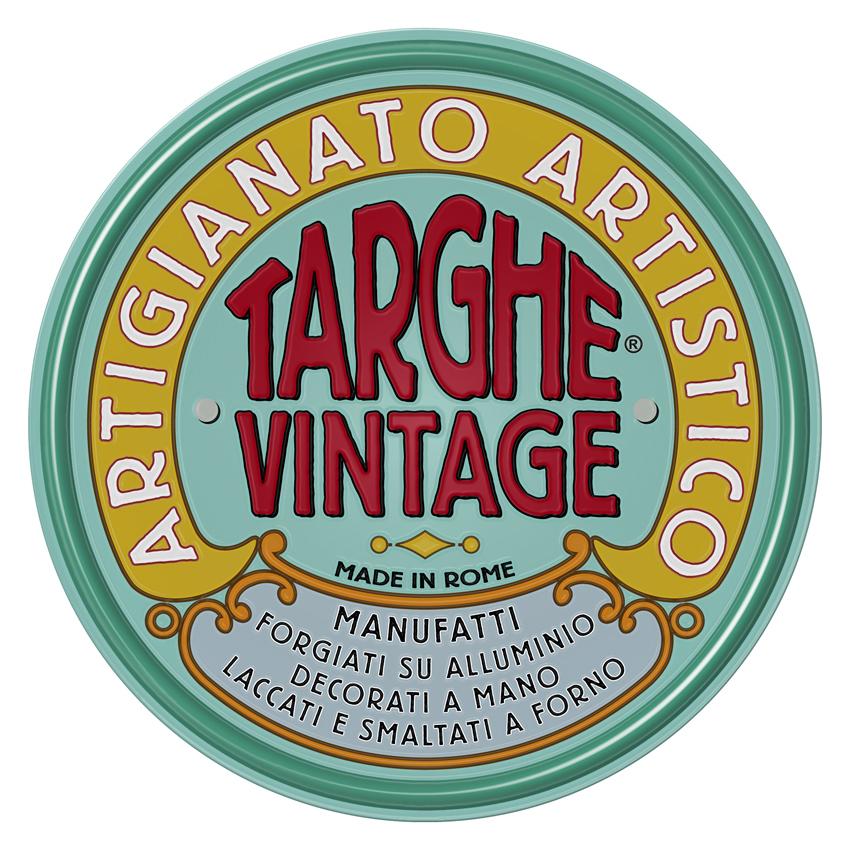 Targhe Vintage per Arredo e Collezionismo