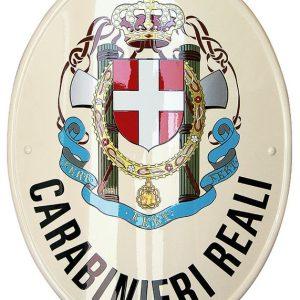 stemma dei carabinieri reali prodotto da insegne antiche