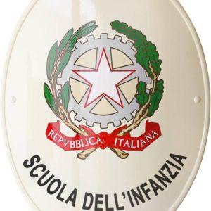 stemma per scuola infanzia prodotto da insegne antiche