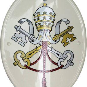 stemma vaticano prodotto da insegne antiche