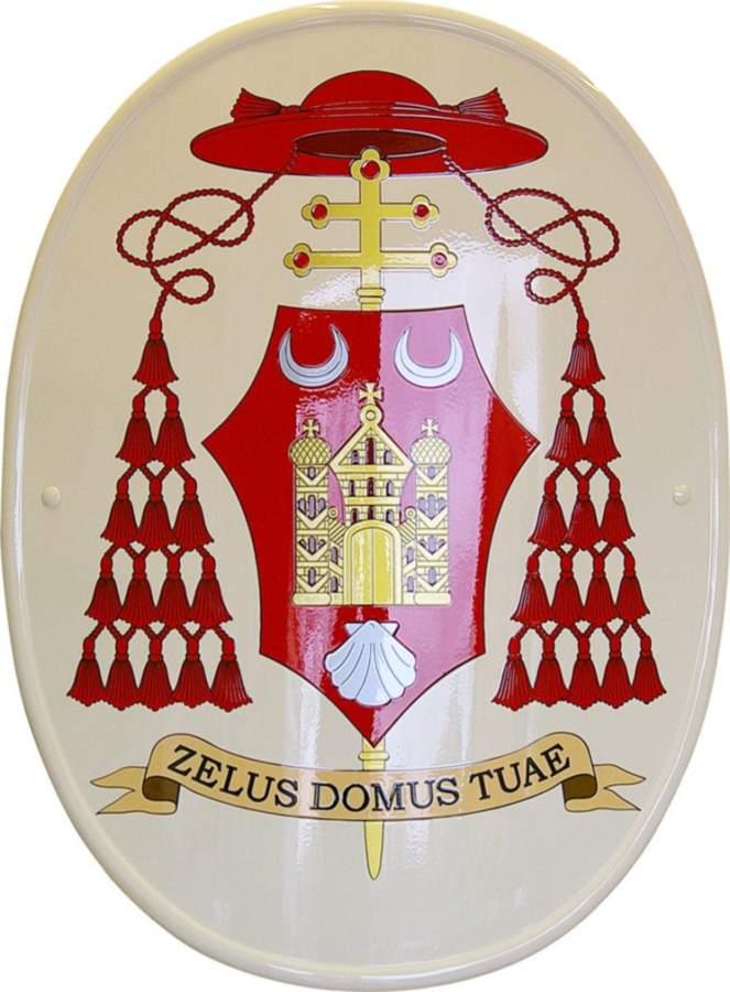 stemma cardinalizio per James Michael Harvey prodotto da Insegne Antiche