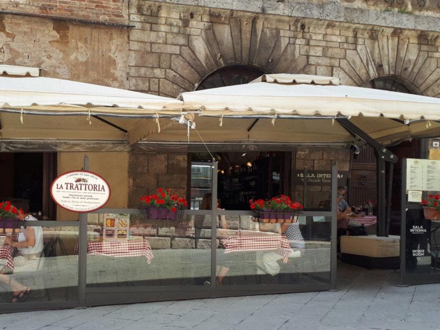Insegna per Ristorante di Montepulciano realizzata da Insegne Antiche