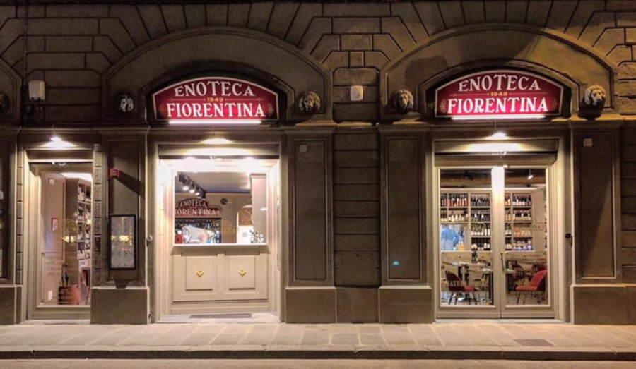 Insegne Vintage per Enoteca Firenze
